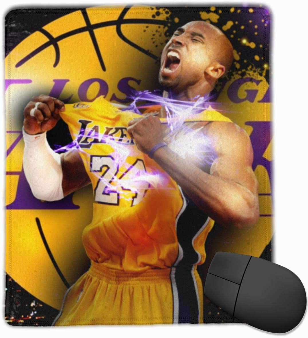Ko-be Br-yant Gaming Office Mouse Pad Mouse Mat Mousepad 9.8 X 11.8 Inches
