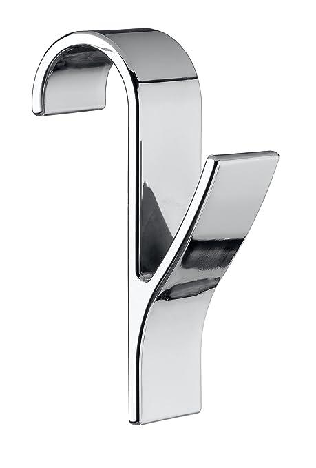 Amazon.com: WENKO Door/Radiator Hooks, Chrome, 7 x 2.5 x ...