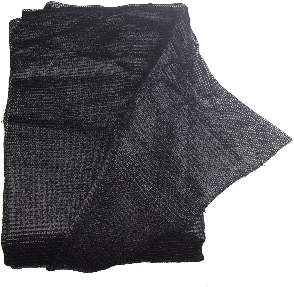 40% 10ft x6.5ft Black Sun Net Sun Mesh Shade Sunblock Shade Cloth UV Resistant Net for Garden Flower Plant for Greenhouse