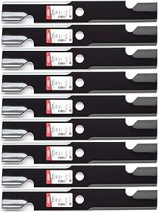 "9PK Oregon 92-030 Blade for 52"" Exmark Lazer Z 103-6402 103-6402-S 103-6382 Toro 109-6873"