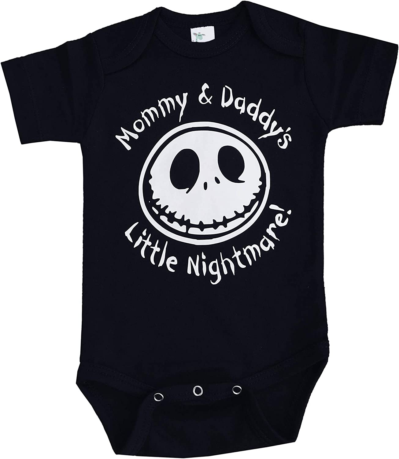 InkCallies Mommy /& Daddys Little Nightmare The Nightmare Before Christmas Jack Skellington Inspired Onepiece Bodysuit!!