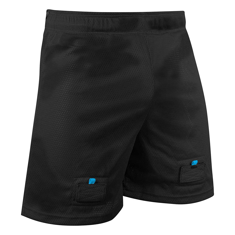 CHAMPRO Rink Textured-MESH Hockey Jock Shorts Includes Hard Cup /& Sock Tabs