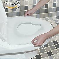 WANPOOL Transportabler Reise Wegwerf Papier Toiletten Sitzbezug - 50 Stück