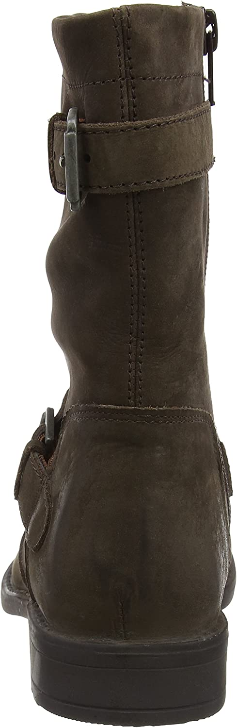 Hush Puppies Jasmine Girls Leather Boots
