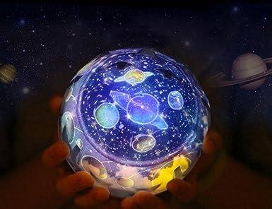 KITLIT Starry Sky Proyector de luz LED colorido y mágico, bola de ...