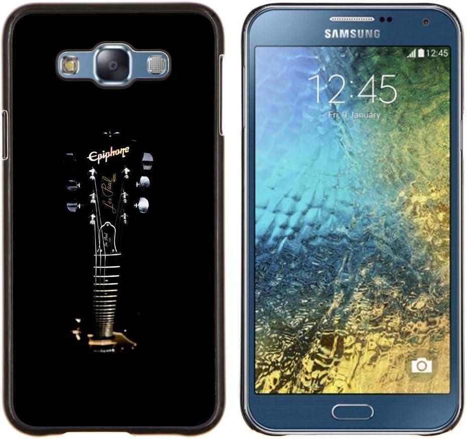For Samsung Galaxy E7 E700 Case , Epiphone Guitarra- Diseño Patrón ...