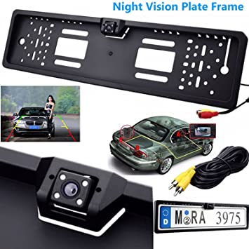 Vehicle Electronics & Gps Independent 170 Degree Car Rear View Cameras Reverse Backup Parking Night Vision Waterproof