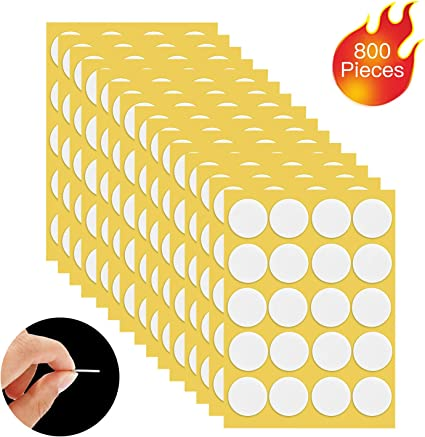 100* Candle Wick Stickers DIY Candle Making Sticker Double-Sided Wicks Stickers