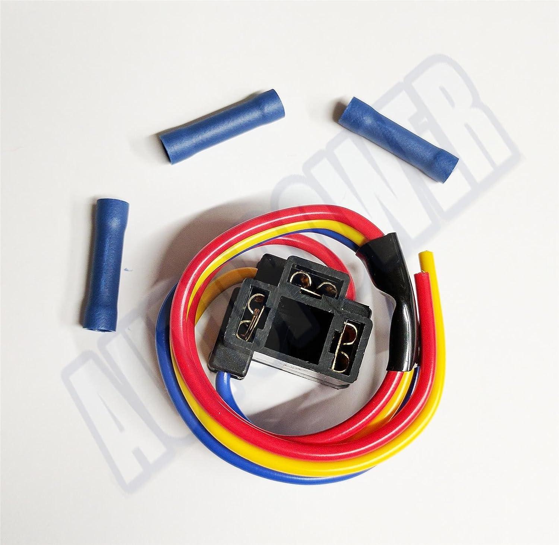 H4 hb472 472 Lampenfassungen-Stecker Scheinwerfer Verkabelung Reparatur Scheinwerfer und Anschlü sse AutoPower
