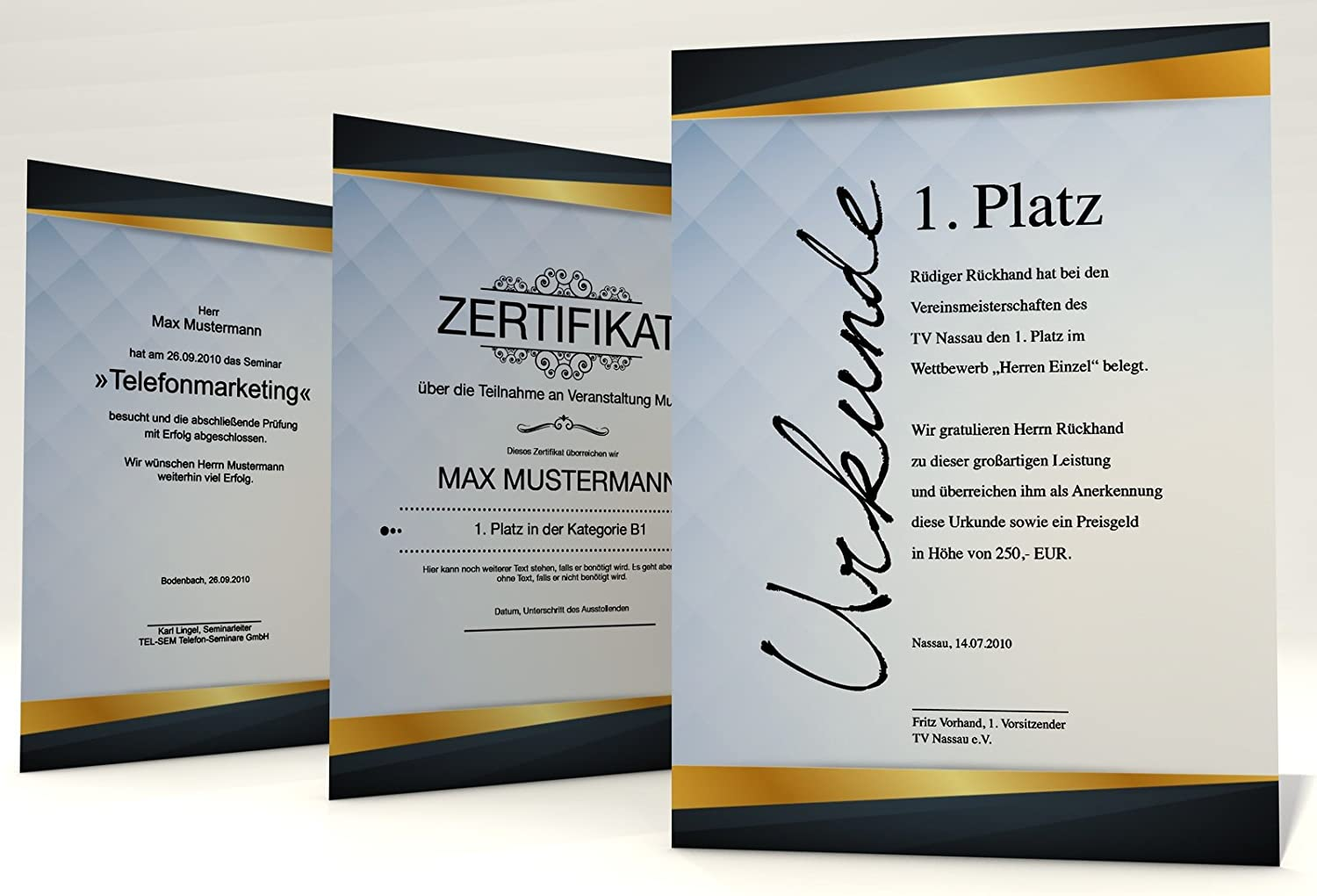 copiers or to be written by hand Certificate Paper Success 50/sheets of A4,/190/g//m/² For certificate Professional certificates in no time Inc For Laser and Inkjet printers Thick paper awards still easily printable certificates