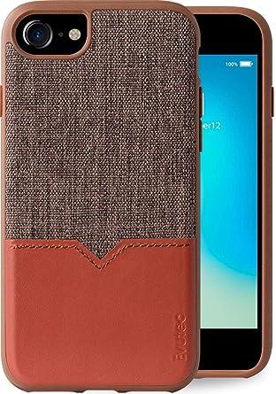 Amazon.com: Evutec - Carcasa para iPhone 6/6s/7/8, diseño de ...