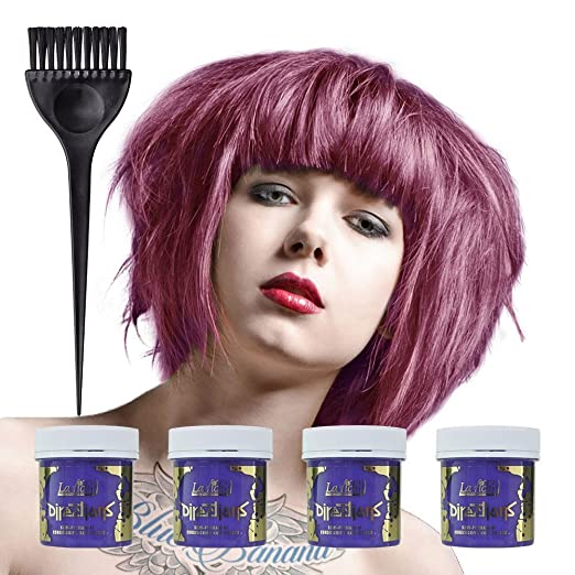 5 opinioni per La Riche Directions Semi Permanent Lavender Hair Colour Dye x 4