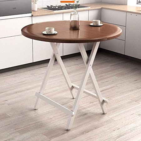 Tavoli Da Pranzo Tondi.Tavolo Pieghevole In Legno Massello Tavolo For Uso Domestico