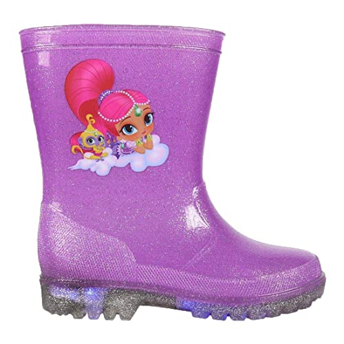 af8aa0b4c Botas de Agua con Luces de Shimmer and Shine 29: Amazon.es: Zapatos y  complementos