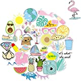 WOCOCO VSCO Laptop Stickers, Cute Waterproof Vinyl Stickers for Water Bottles, HydroFlask, High-Definition Printing (36…