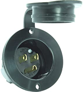 Amazon.com: NOCO Black GCP1 13 Amp 125V AC Port Plug with Integrated on nema 30 amp twist lock wiring diagram, 30 amp rv plug wiring diagram, 4 wire stepper motor wiring diagram,