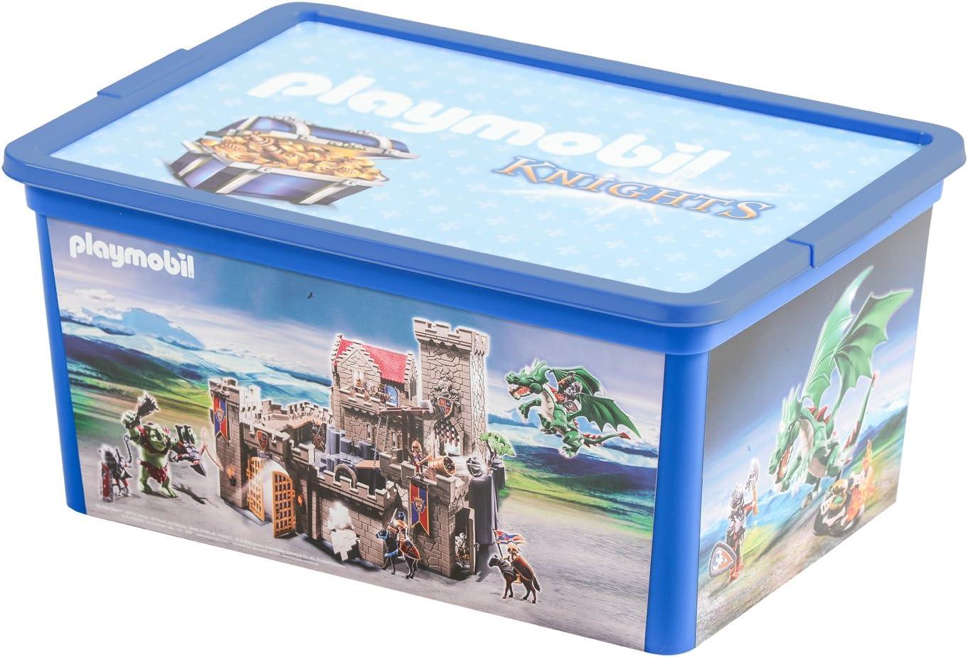PLAYMOBIL–064746–Caja–Ritter–12l