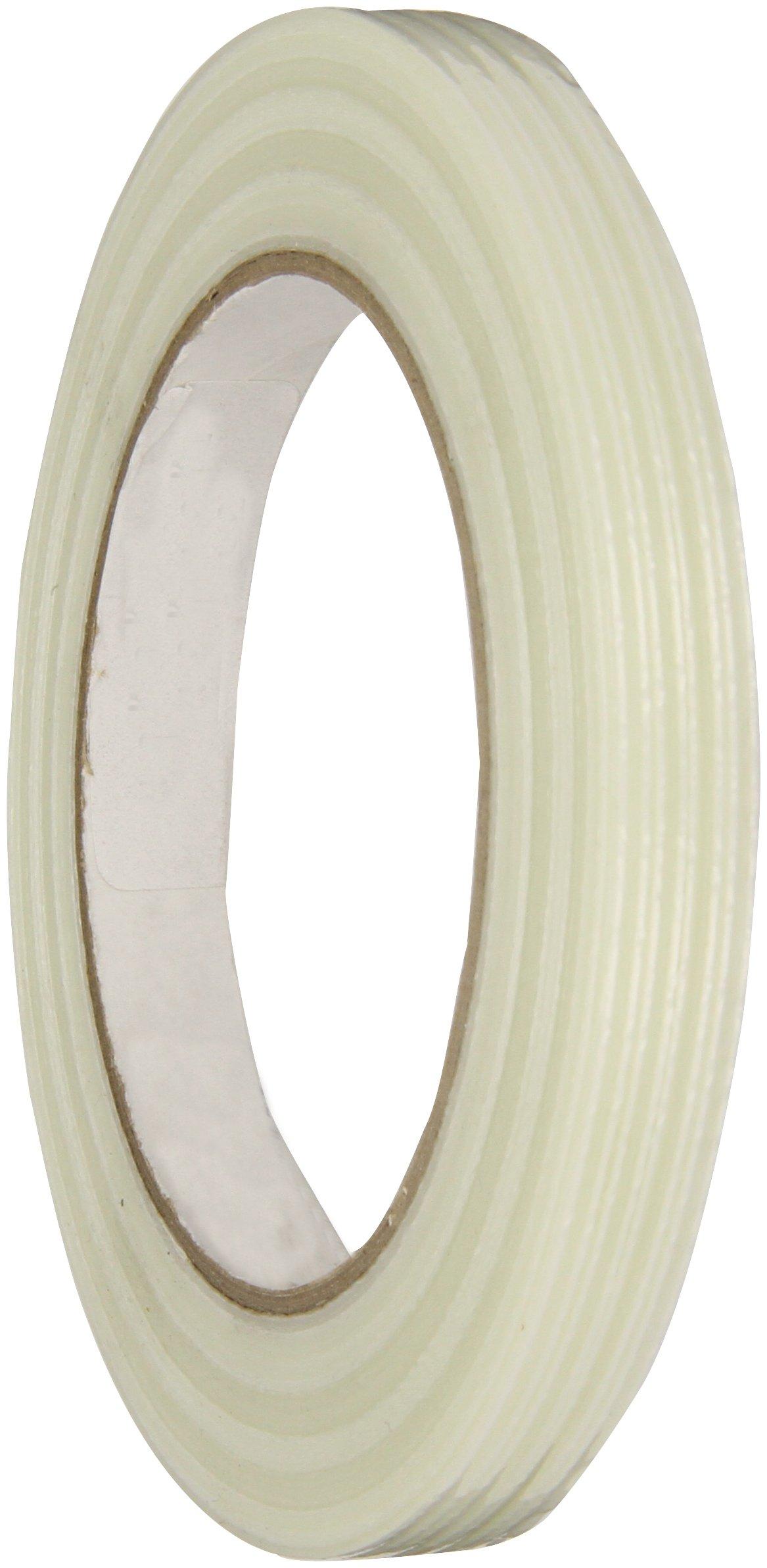 Intertape Polymer Group RG300 110 lbs/in Fiberglass Reinforced BOPP Backed Filament Tape, 12mm x 54.8M, Case of 72 Rolls