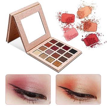 IMAGIC 16 Colores Paletas de Sombras de Ojos Profesionales ...