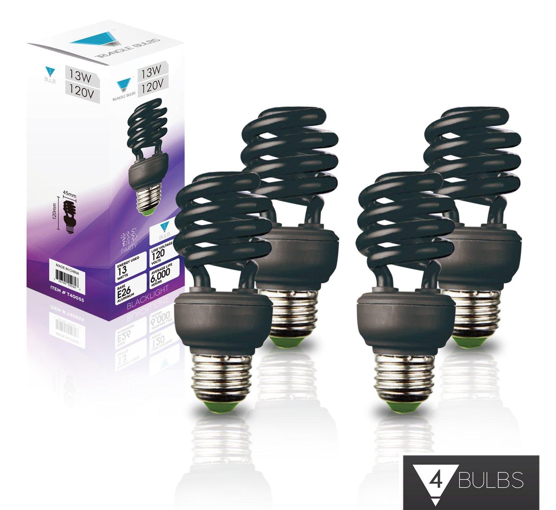 Triangle Bulbs T40055-4 13W Backlight Bulbs, Blue (Pack of 4)