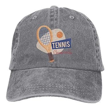 Tennis Champion Denim Baseball Caps Hat Adjustable Sport Cap at ... 4abff05b710