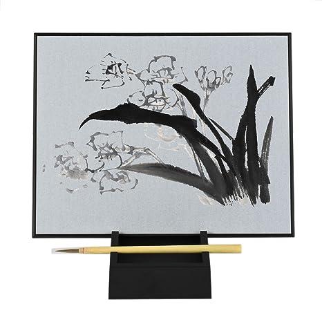 Newcomdigi Planche à Dessin Enfant Tablette De Dessin Réutilisable Pliable Dessiner Avec Eau Pour Peinture Traditionnelle Chinoise Ou Calligraphie 32