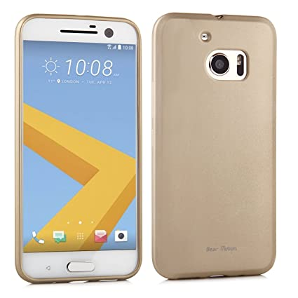 htc 10 case gold. htc 10 case - bear motion premium slim for (2016 model) htc gold