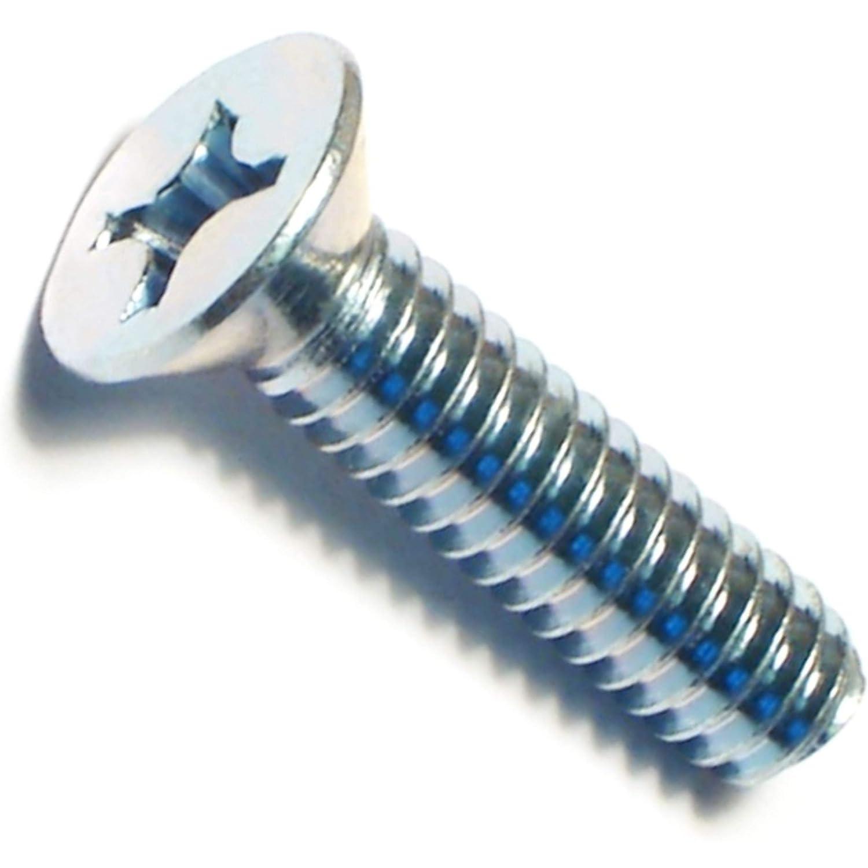 Hard-to-Find Fastener 014973289096 Phillips Flat Machine Screws Piece-15 1//4-20 x 1