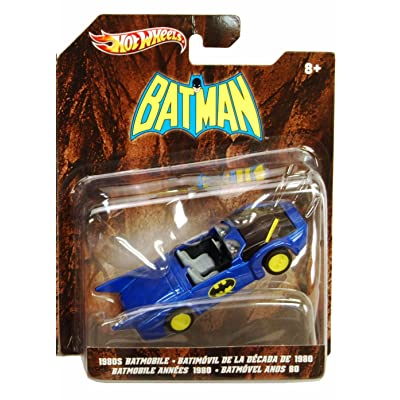 Hot Wheels Batman 1980s Batmobile 1:50 Scale Die Cast Vehicle: Toys & Games