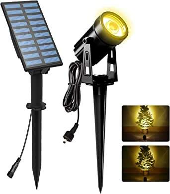 Solarleuchte 8 x Solarlampe LED mit Erdspieß Gartenleuchte Wegleuchte Garten