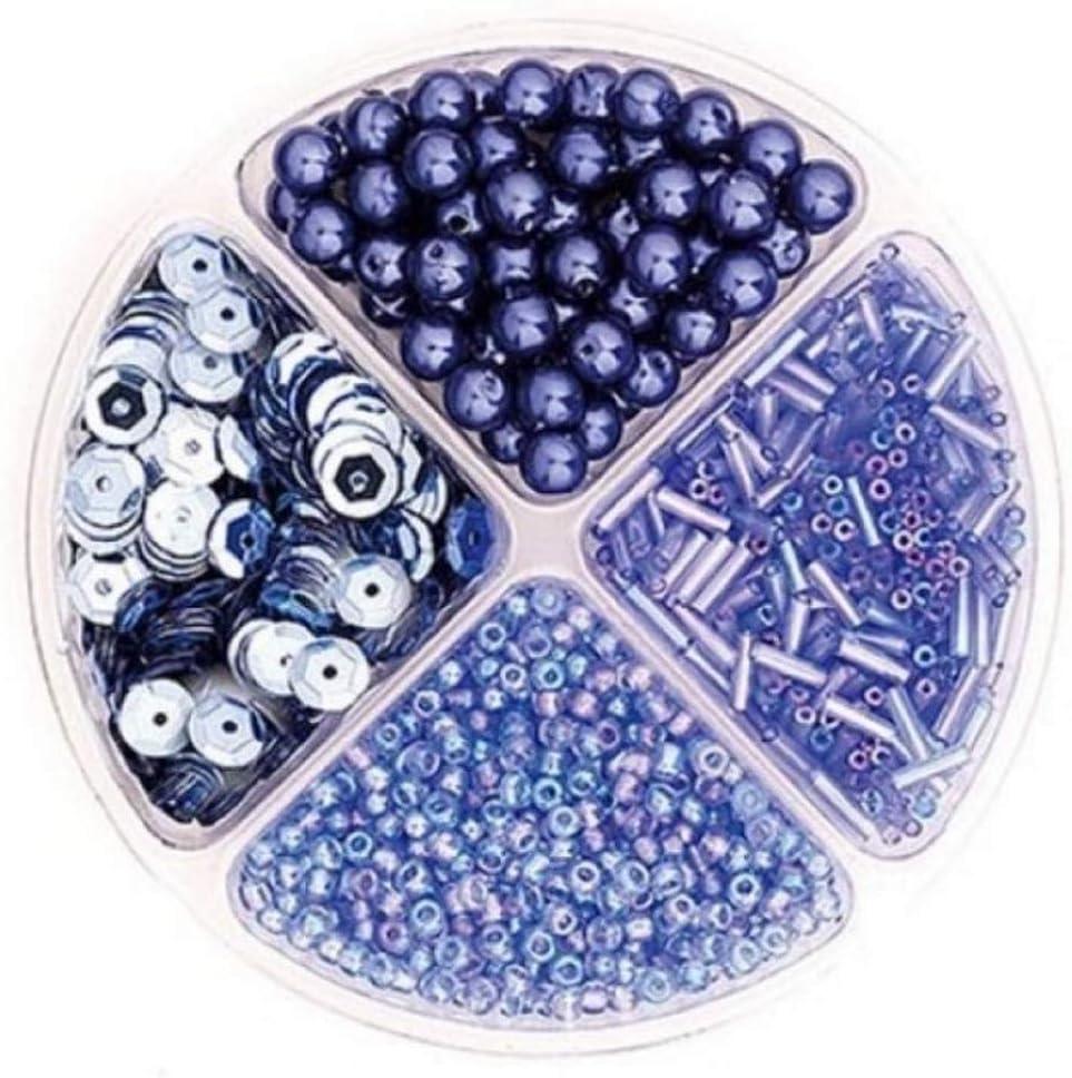 Knorr Prandell Beads and Sequins Set Light Blue