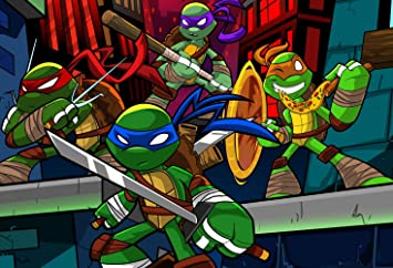 Amazon.com : 7x5ft Teenage Mutant Ninja Turtles Theme ...