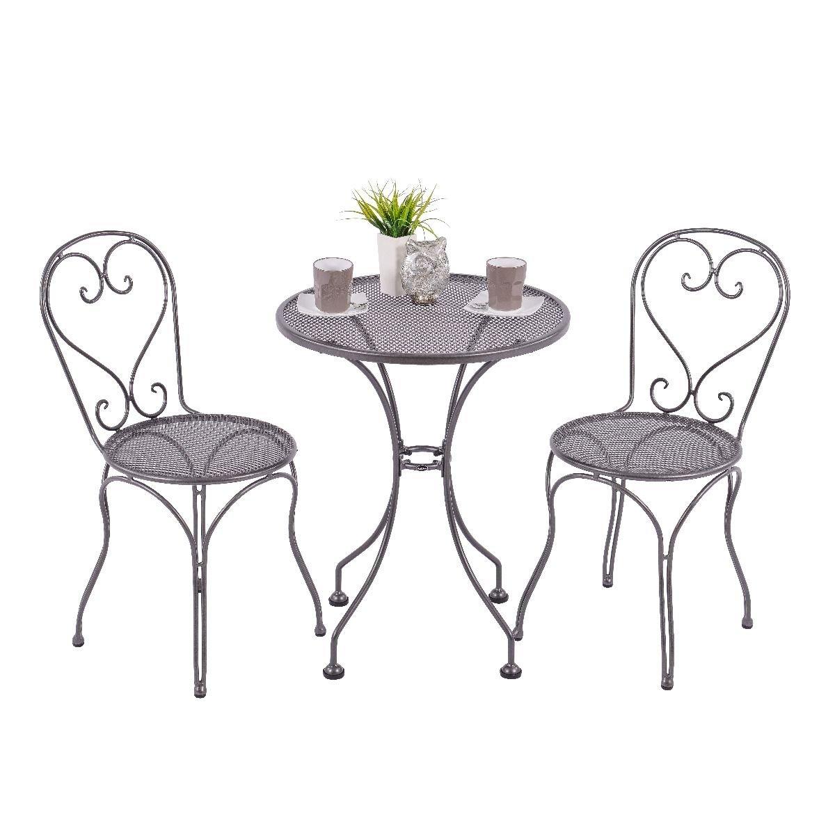 Amazon.de: Royal Garden Caffeo 2-Sitzer Bistro Gartenmöbel Set