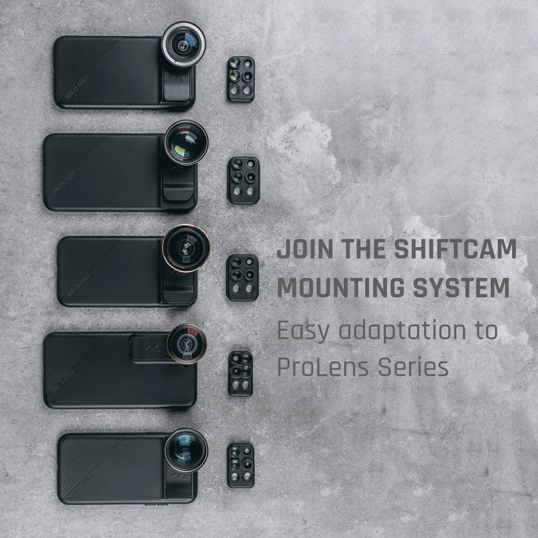3-in-1 Travel Set with Front Facing Lens Compatible with iPhone XR ShiftCam 2.0