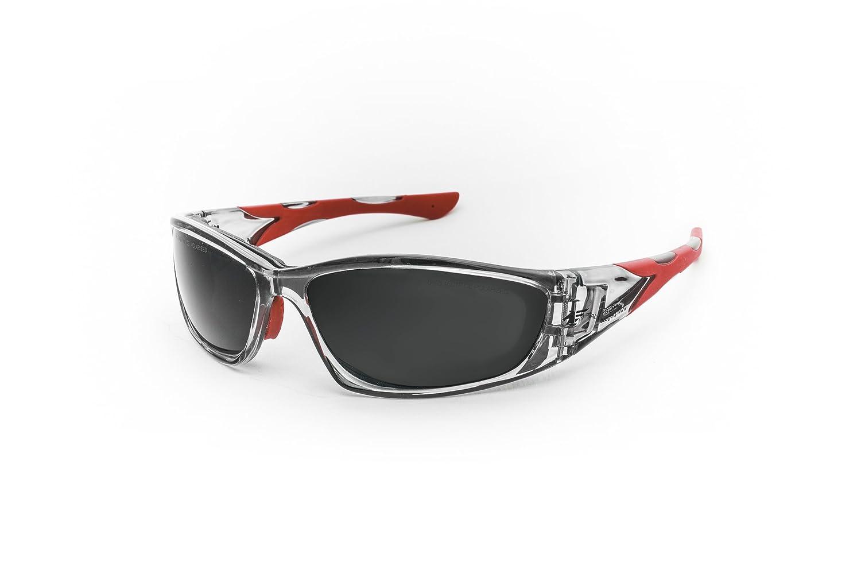 Pegaso Eyewear - Adrenaline Crystal Grey & Red Polarized ...