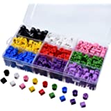 eBoot 495 Pieces Size Marker Plastic Hanger Size Tags Color-coding Size Dividers 9 Sizes Set (XXS - 4XL) with Storage Box