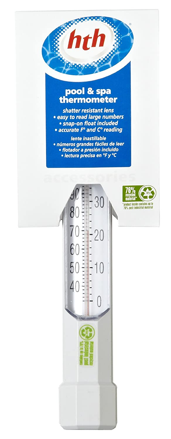 Amazon.com : HTH 4099 Thermometer : Swimming Pool Maintenance Kits : Garden & Outdoor