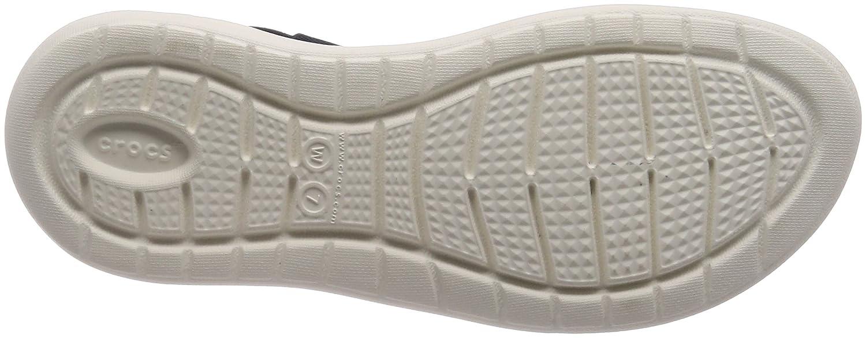 Crocs Donna  LiteRide Croslite Croslite Croslite Slip On Sandal Navy bianca-Navy-3 Dimensione 3 526993