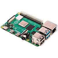 RASPBERRY PI 4 Modell B 4GB ARM-Cortex-A72 4X 1,50 GHz, 4 GB RAM, WLAN-AC, Bluetooth 5, LAN, 4X USB, 2X Micro-HDMI