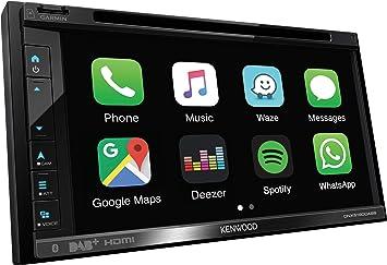 Kenwood Dnx5190dabs Navigationssystem 17 1 Cm 6 75 Touchscreen Tft Fixed Schwarz 2 1 Kg Navigation