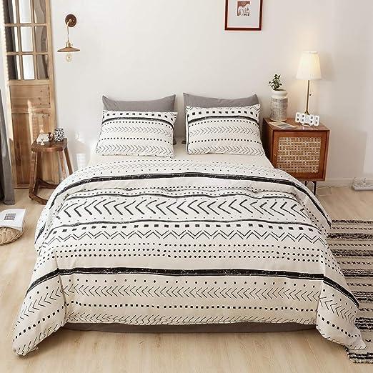 Amazon.com: Smoofy Comforter Set, Boho Aztec Folkloric Art Pattern