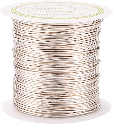 TARNISH COPPER Wire JEWELLERY WIRE 8 sizes to choose from HIGH Quality NON