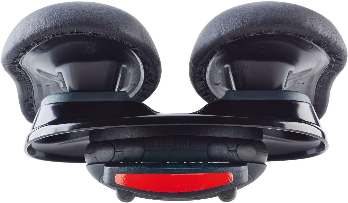 SQlab 600 Active Sillín, Adultos Unisex, Negro, Ancho Ajustable: Amazon.es: Deportes y aire libre