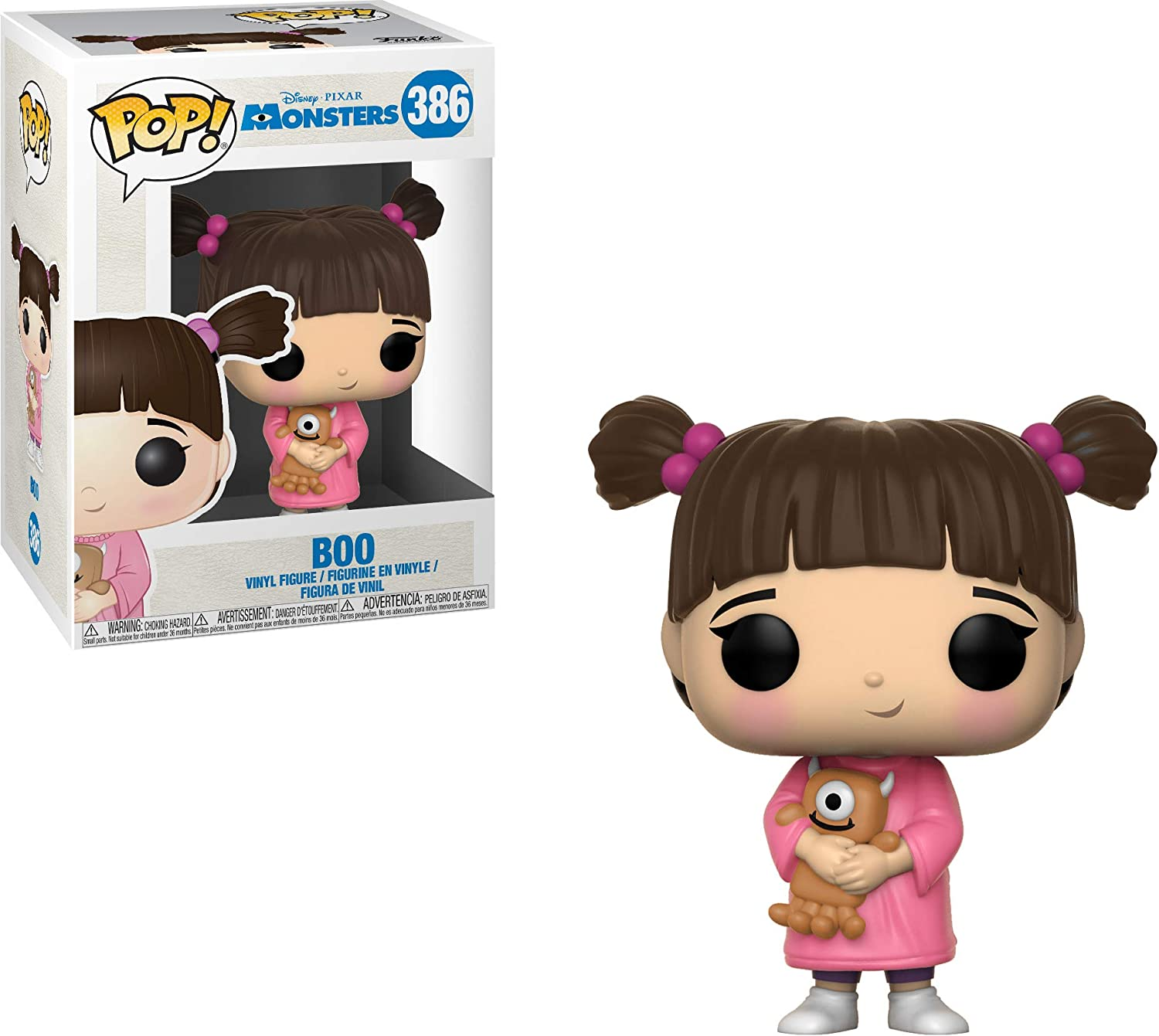 Funko- Pop Vinilo: Disney: Monsters Inc: Boo, Multicolor (29392)