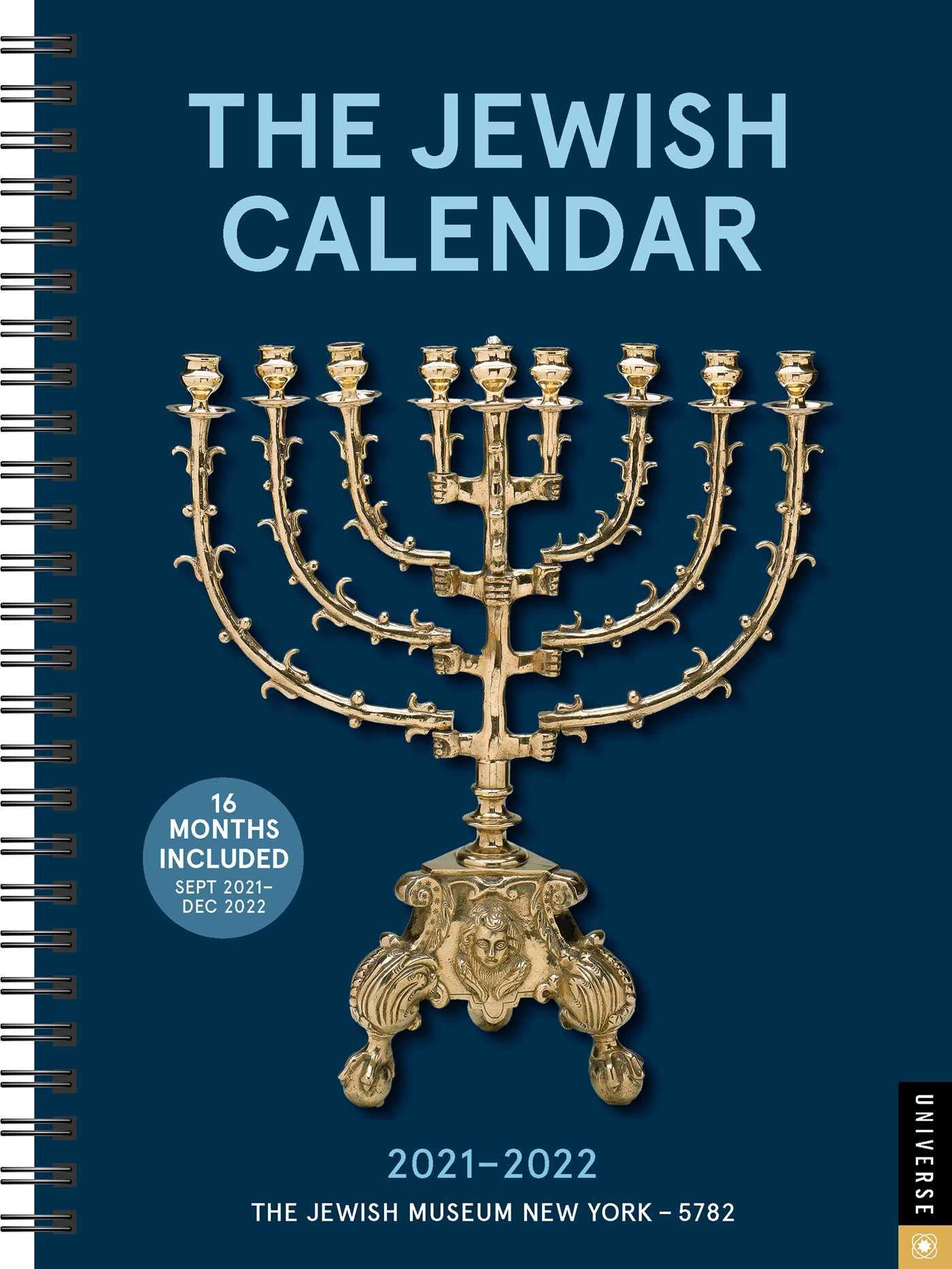 Jewish Calendar 2022.Buy The Jewish Calendar 16 Month 2021 2022 Engagement Calendar Jewish Year 5782 Book Online At Low Prices In India The Jewish Calendar 16 Month 2021 2022 Engagement Calendar Jewish Year 5782 Reviews Ratings Amazon In