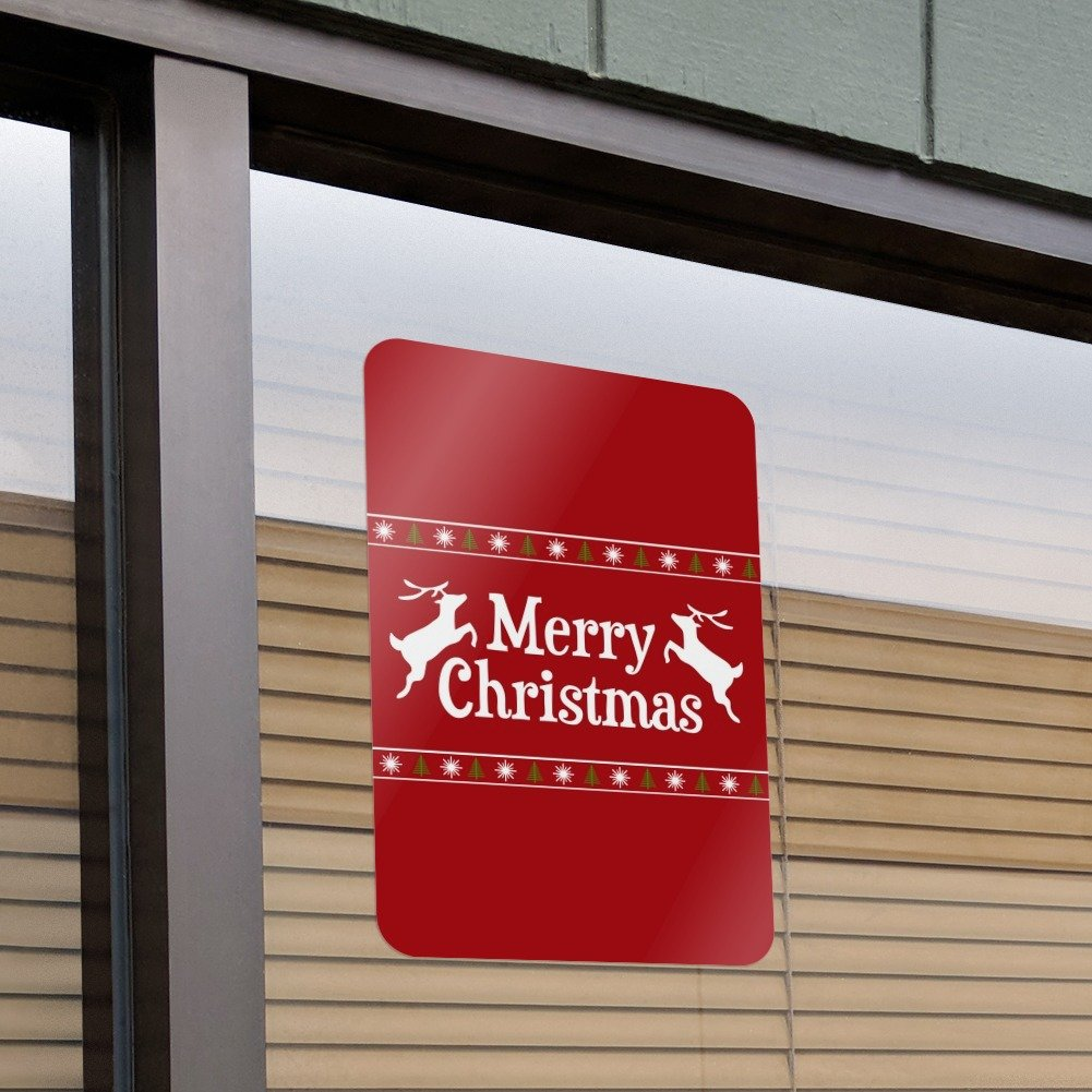 Amazon com: Merry Christmas Holiday Reindeer Home Business