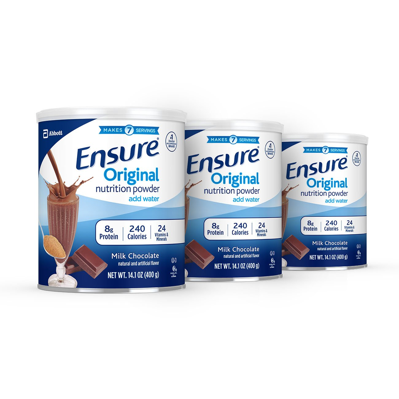 Ensure Original Nutrition Powder With 9 Grams Of Protein Pediasure Complete Vanilla Tin 400 Gr 8 Meal Replacement Chocolate 3