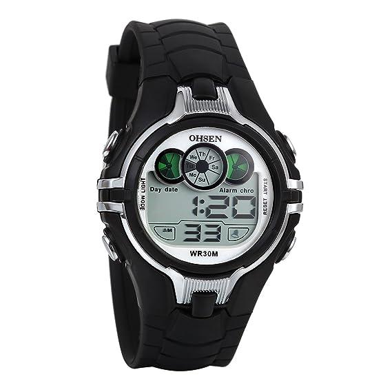 Relojes Juveniles, Relojes Deportivo LED Digital Despertador ...