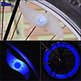 Promithi LED Bicycle Spoke Wheel Safety Light Cycling Push Bike Mountain Bicycle Lights