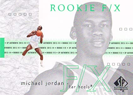 769636eb4 Image Unavailable. Image not available for. Color  2013-14 SP Authentic  Basketball  72 Michael Jordan ...